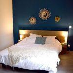 Miroir de la tête de lit de la chambre des parents Miroir en bois de la collection Sun ... - Les plus belles idées de meubles