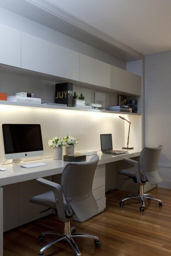 Mobilier de bureau contemporain – 59 photos inspirantes – Archzine.fr | Maison D …