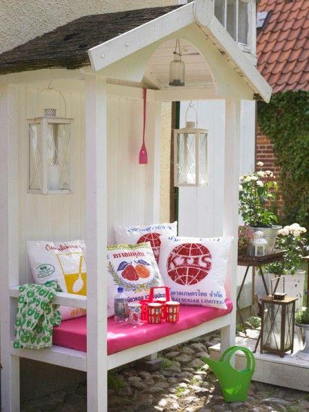 Mobilier de jardin: couché ou assis?