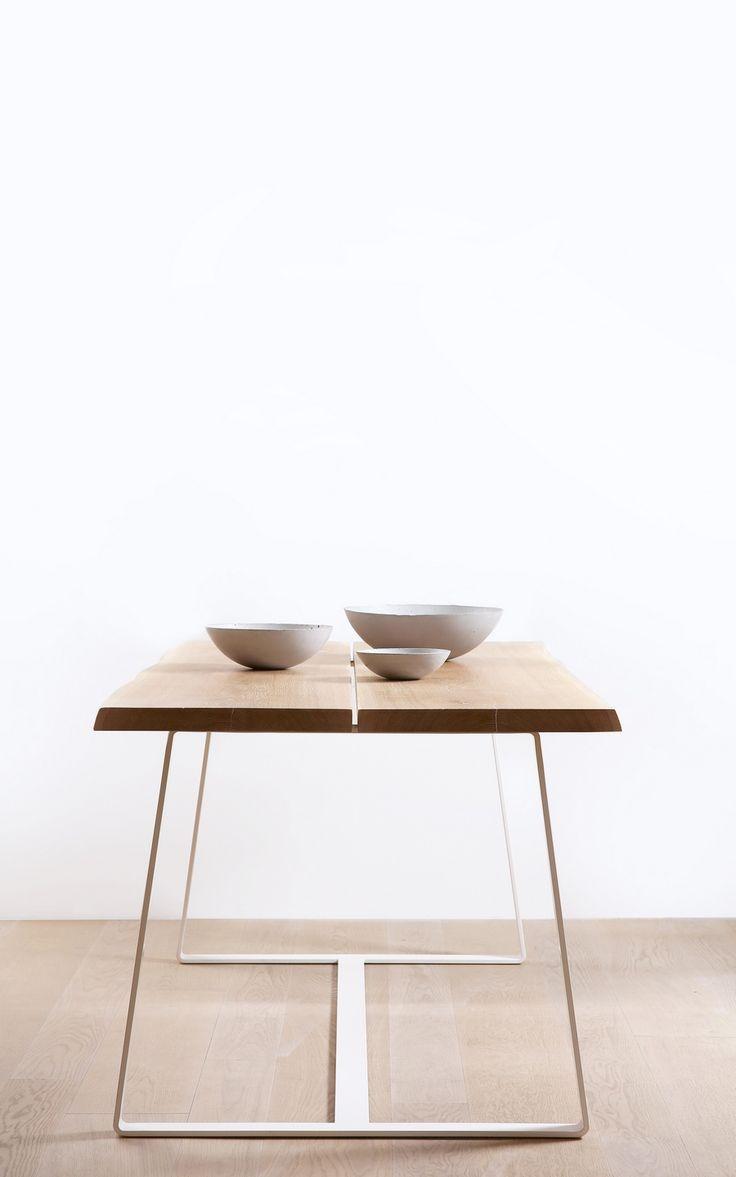Mobilier minimaliste conçu par Mindaugas Šukys de Vilnius, en Lituanie