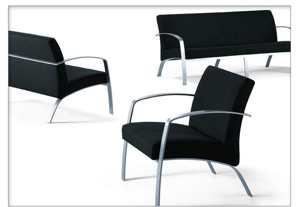Moder…- Moder …- Modern Waiting Room Chairs  Chaises de bureau modernes en a…