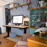 Mon bureau assis-debout | Bureaux assis-debout & perspectives | #homeoffice | St...