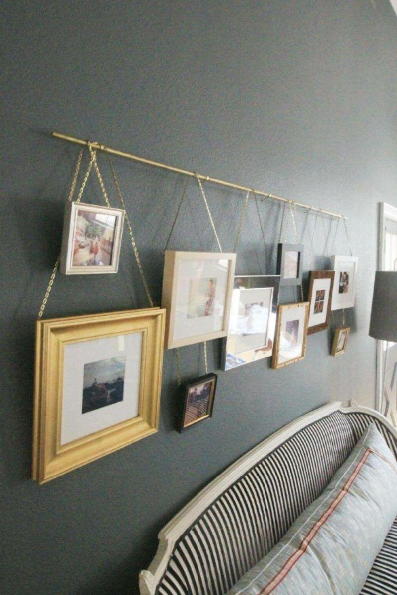 Mur de photos à la maison – Astuces et 25 idées créatives – Décoration de la maison Plus