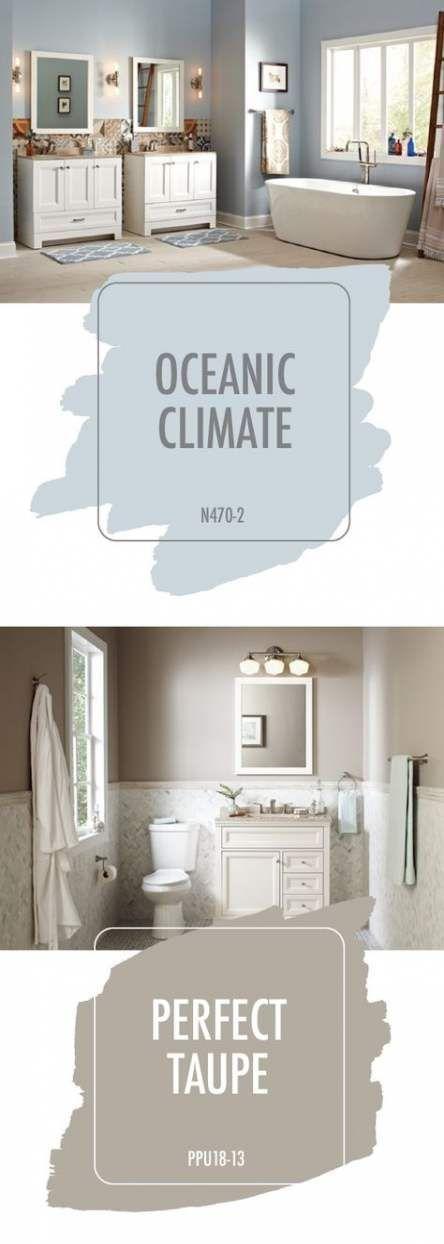 Murs de couleur de salle de bains, chambre à coucher principale neutre 37 Idées pour 2019