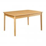 My Mia Table de salle à manger extensible en frêne