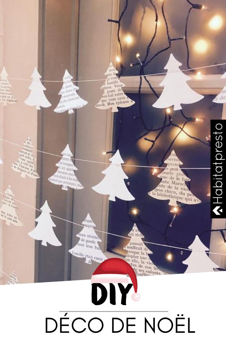 Noël 2018 : 6 idées de décorations de Noël à réaliser soi-même