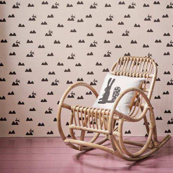 Nouveauté: papier peint pour la chambre des tout-petits – Buk & Nola