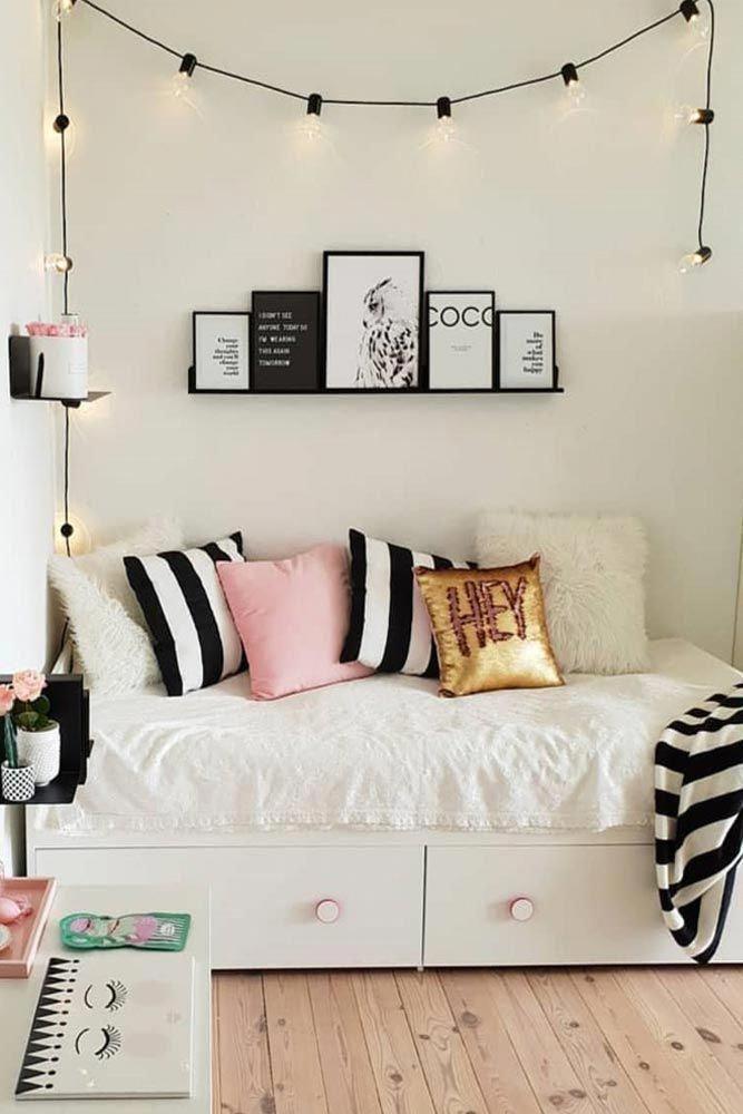 Organisation moderne de la chambre ado #Oragnization #Pillows Need Some Teen Bedroom …