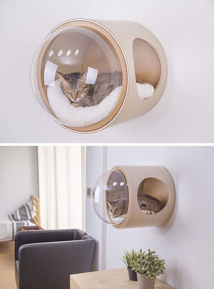 Original et minimaliste sont ces petites maisons de chat sous la forme de navires … – #these #form # chat maisons #small #minim –