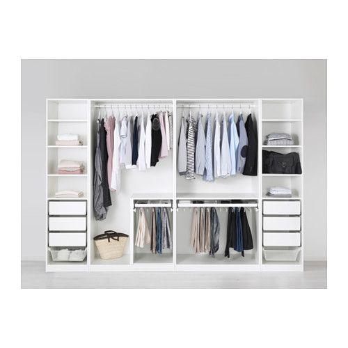 PAX Armoire-penderie – blanc – IKEA