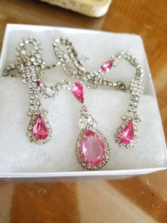 Parure de bijoux Vintage Pink Parure Princess
