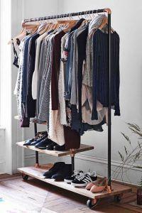 Penderie ouverte pour exposer ses vêtements – Blog Déco – Clem