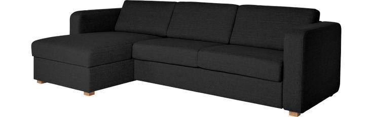 Petit canapé-lit sectionnel
