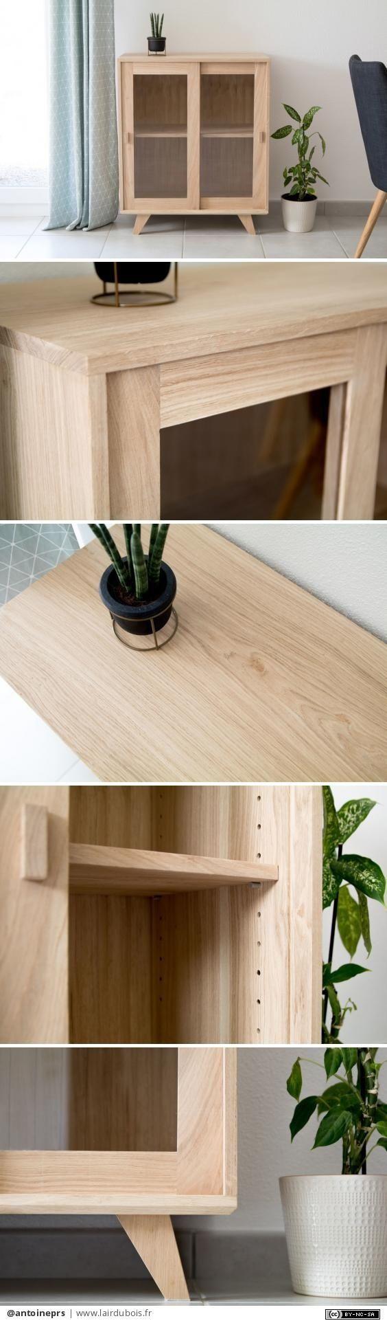 Petit meuble en chêne par antoineprs