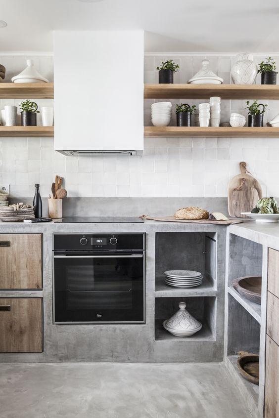 Petites idées de cuisine et design pour votre petite maison ou appartement, élégance …