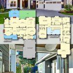 Plan 23808JD: Façade de style Hampton avec plan d'étage moderne
