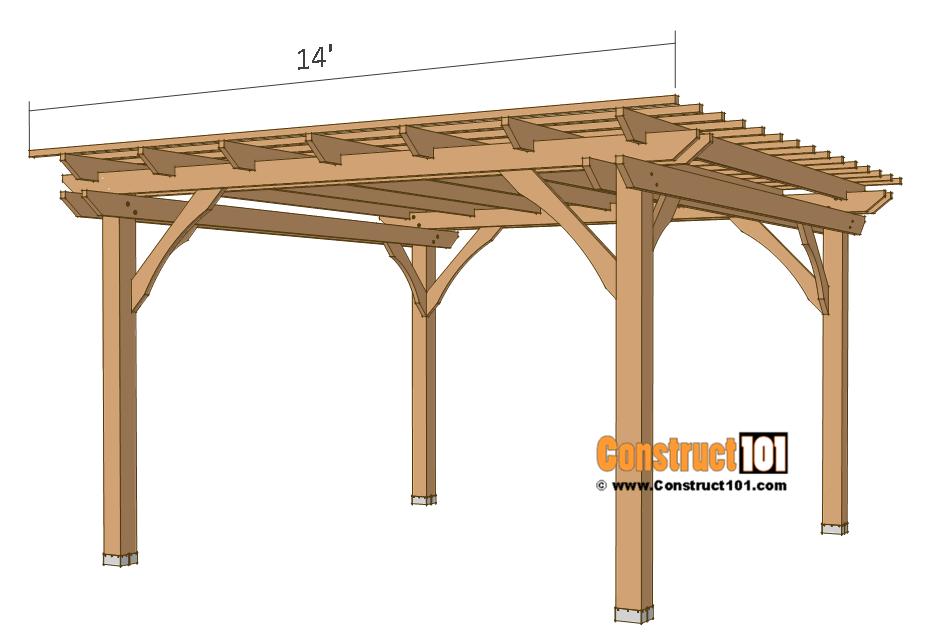 Plans 12×12 Pergola – Téléchargement gratuit en PDF