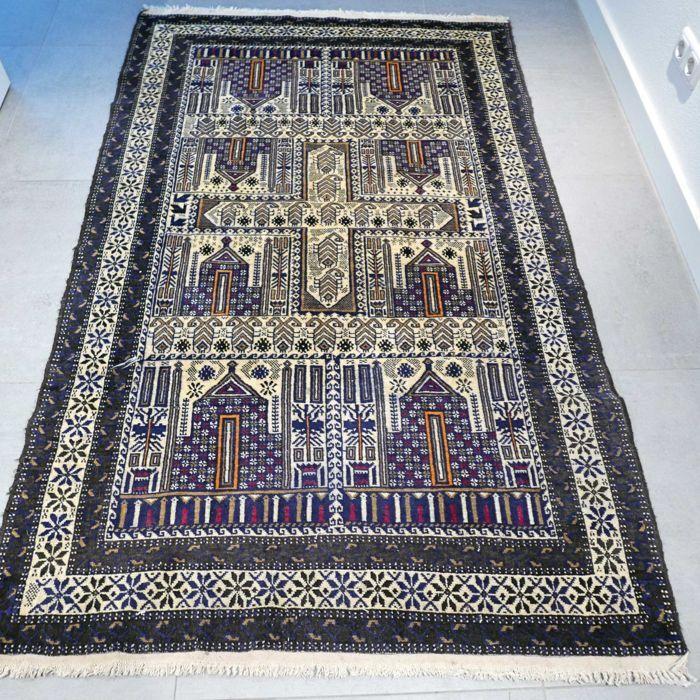 Plateforme de ventes aux enchères en ligne Catawiki : Baluch – 190 x 120 cm