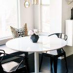 Plus de 20 élégantes et innovantes tables de salle à manger proposent des idées pour les petits espaces