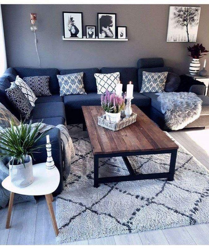 Plus de 60 petites idées de décoration de salon pour votre appartement