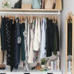 Porte vêtement, penderie et armoire grillagée- les rangements petit espace