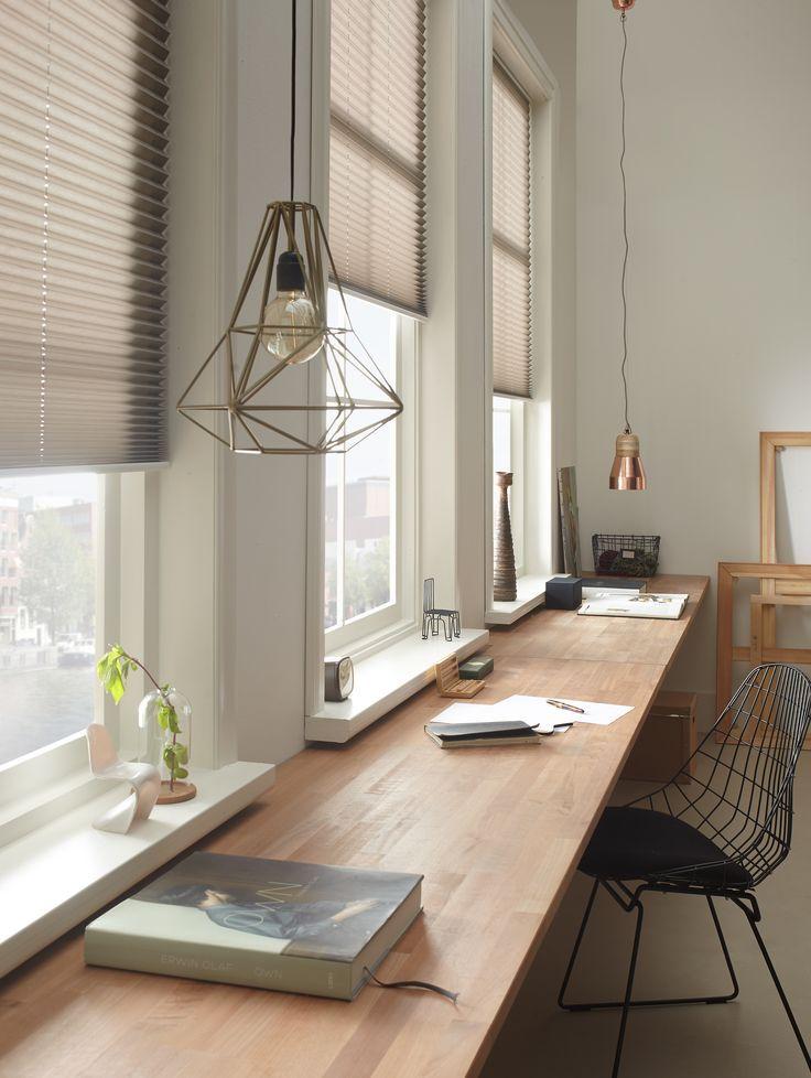 Praxis | Stores plissés – #indoordesign # Stores plissés #Praxis