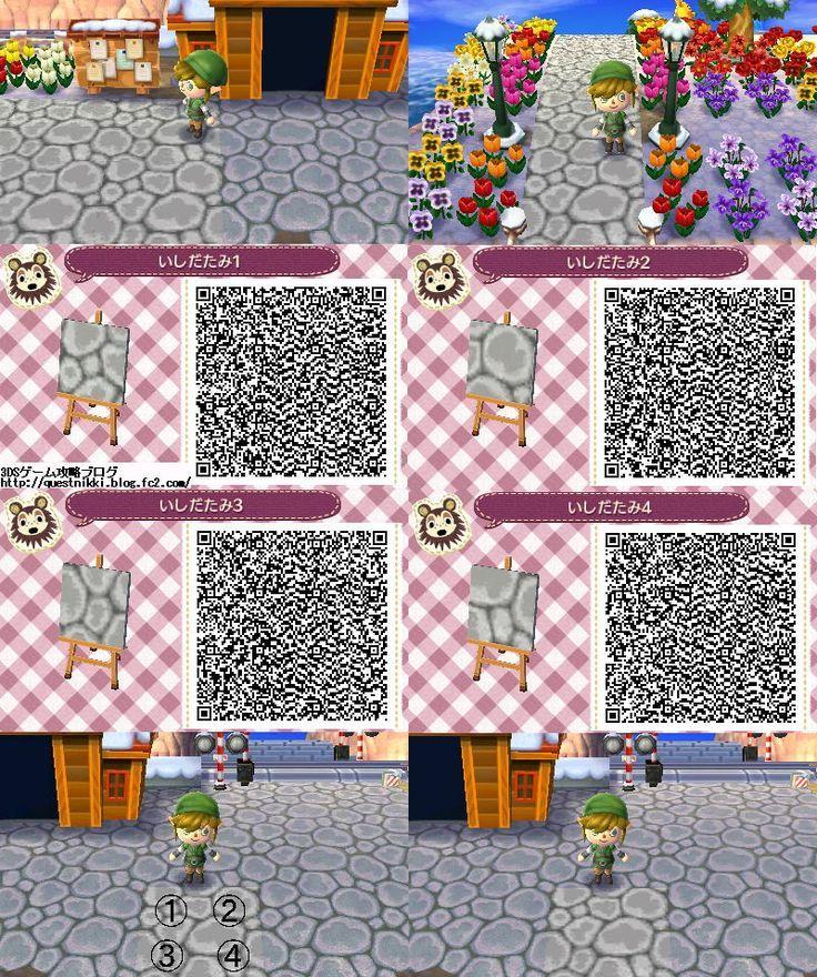 QR Code Tobidase Animal Cross Mon motif au sol Tobimori …