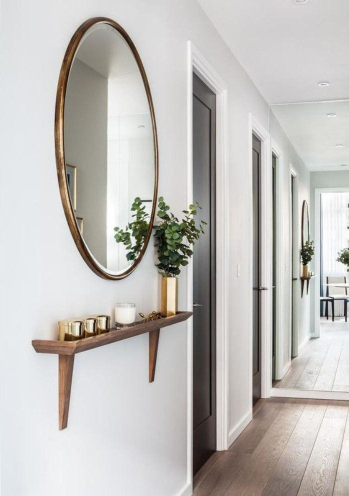 Quel miroir d' entrée choisir pour son intérieur – jolies idées en photos? – Archzine.fr