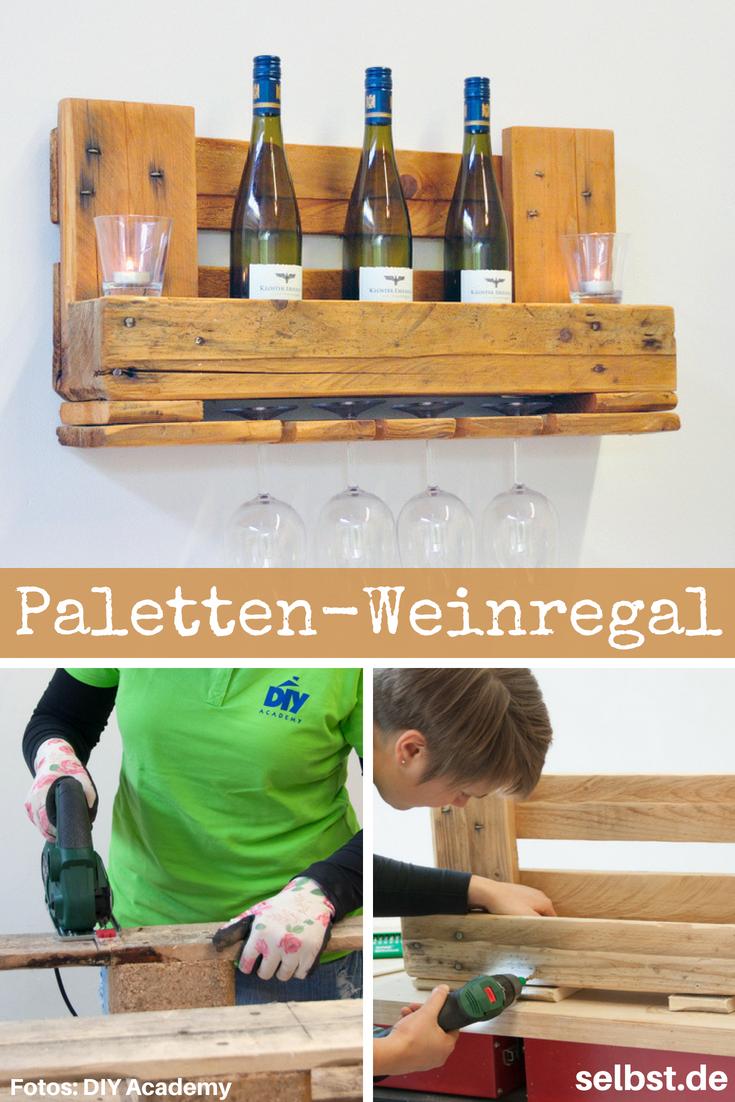 Rack palette vin