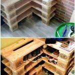 Range-chaussures en bois # Palettes en bois # Range-chaussures # palettes en bois # Range-chaussures ...