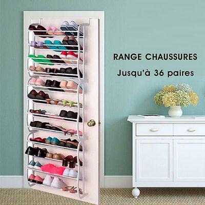 Range-chaussures rangement 36 étagère à chaussures paire porte étagère penderie