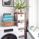Remodelage rapide de la salle de bain - et nouvelle machine à laver