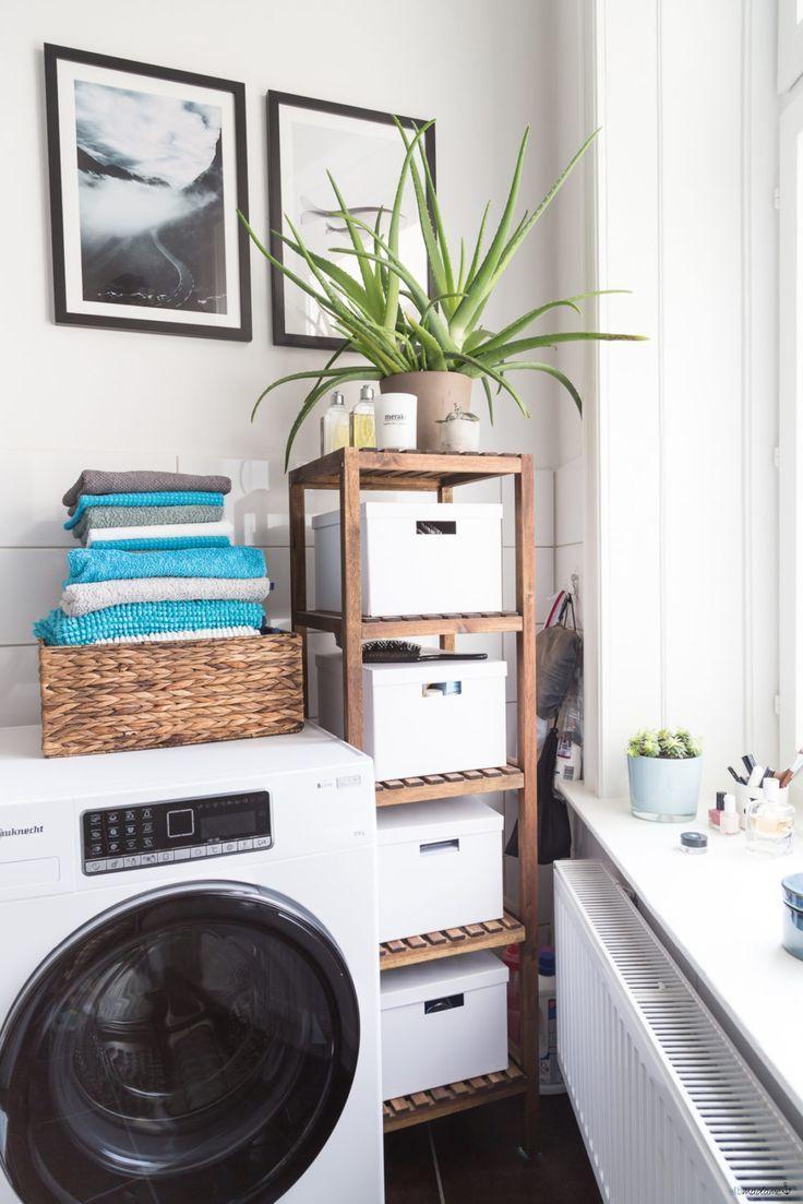 Remodelage rapide de la salle de bain – et nouvelle machine à laver