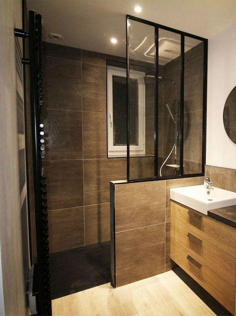 Rénovation entière d'une salle de bain à Muzillac – Bains Douches & Co