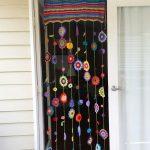 Rideau de bohème au crochet #bohemian #crochet #curtain #rideau Bohemian House Dec ...