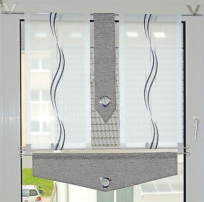 Rideaux de cuisine Ensemble de rideaux de bistrot rideaux modernes 4 pièces + 2 barres