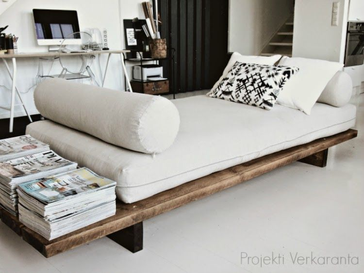 SE ON VALMIS // DIY DAYBED (Dream Tomorrow – Live Today)