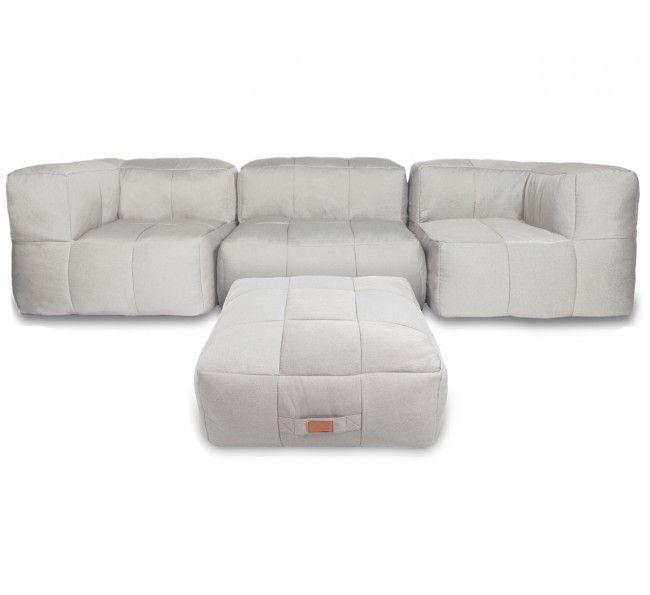 SOFA en Mousse Compressé – Sofa Sectionnel Moderne Ideal pour condo!