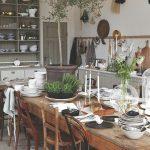 Salle à manger de style campagnard - 50 aménagements intérieurs pour la salle à manger