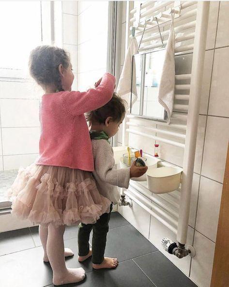 Salle de bain Montessori pour enfants – Des hacks IKEA