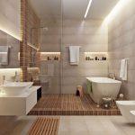 Salle de bain scandinave – la douche chaude venue du froid
