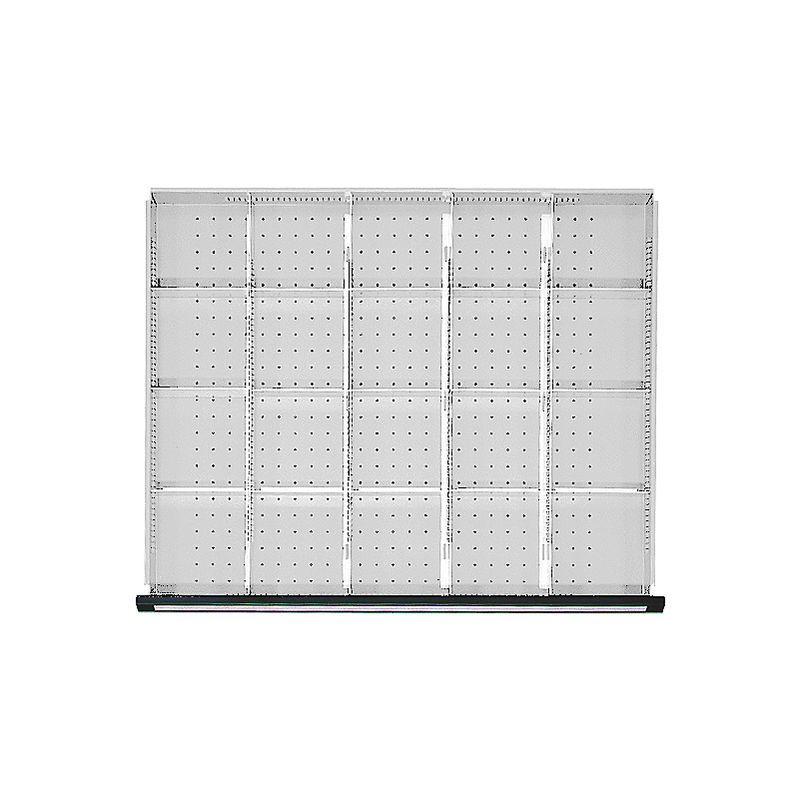 Séparateurs métalliques pour armoires à tiroirs, pour largeur armoire 910 mm pour hauteur tiroirs 180 – 360 mm – ANKE