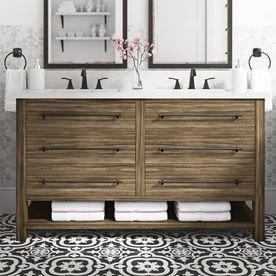 Smart Idea pour un meuble double vasque dans votre salle de bain. permet de vérifier ici !!! #Bathroo …