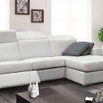 Sofa-lit sectionnel avec fauteuils inclinables