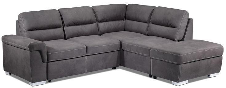 Sofa sectionnel 3 morceaux avec chaise
