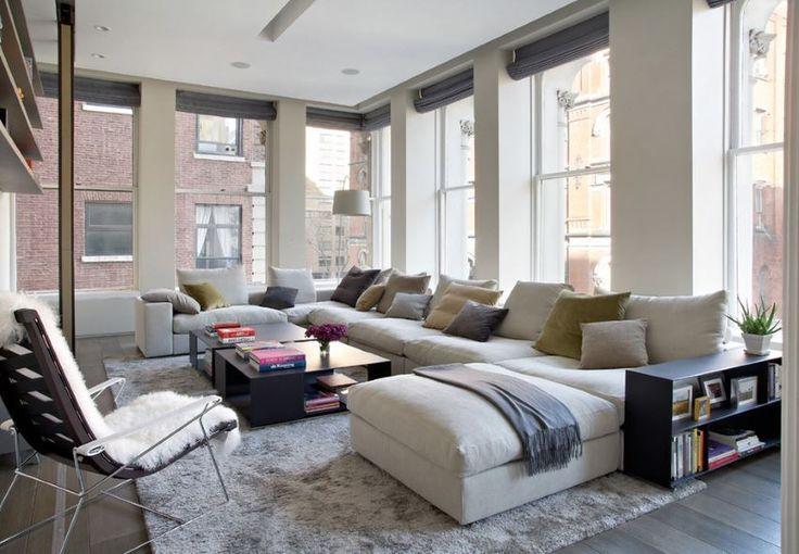 Sofa sectionnel moderne