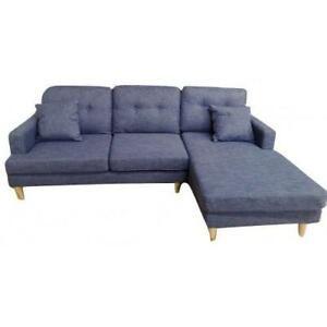 Sofas sectionnels Lily 399$  et Tessy 539$  en tissu 4 couleurs.  Prix PROMO!   …