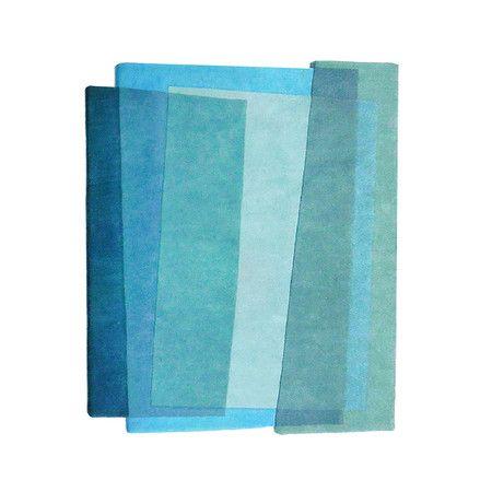 Sonya Winner – Tapis marin Aqua Teal – Petit – 100x120cm