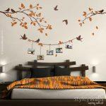Sticker mural - Cadre avec cadre photo oiseaux Sticker mural - un unique et unique ...