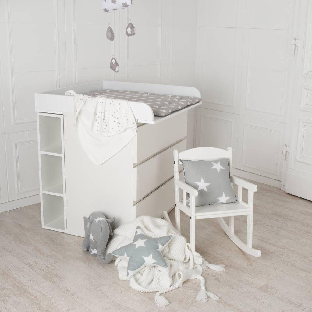 Stockage Moritz pour Malm, blanc, 75x19x30 cm
